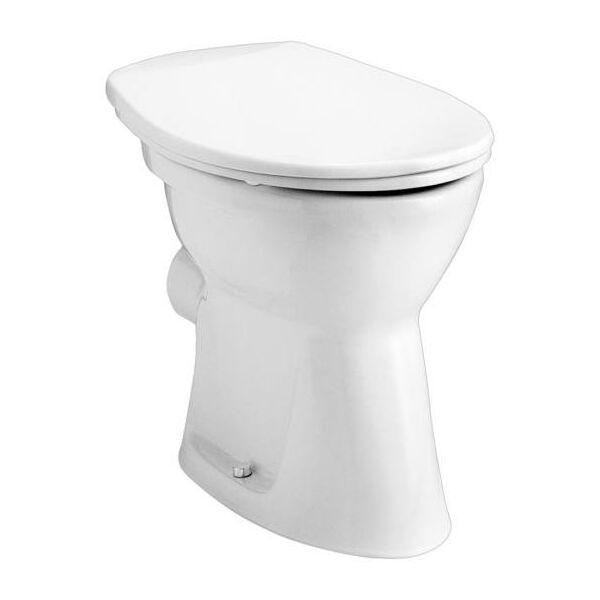 ALFÖLDI BÁZIS 4030 lapos öblítésű, hátsó kifolyású WC-csésze