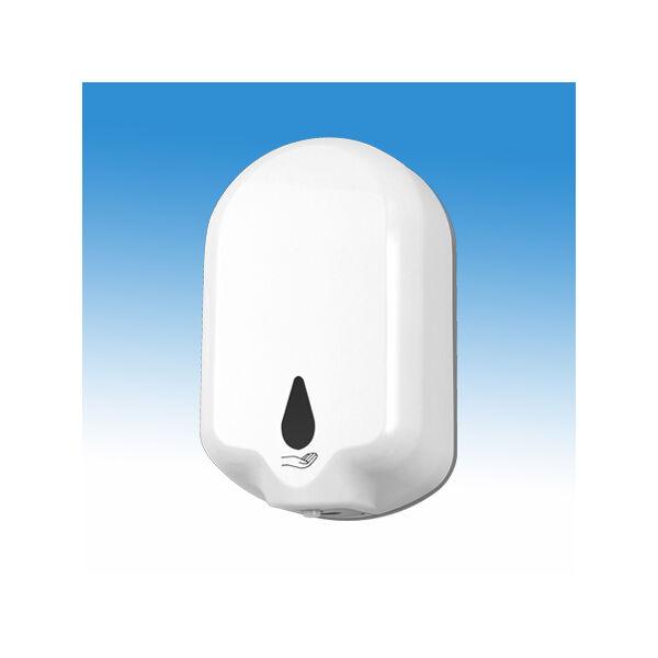 B&K Infrás automata gél állagú kézfertőtlenítőszer adagoló, műanyag, fehér, 1,1 l, elemes