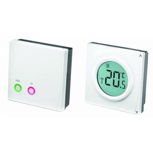 DANFOSS RET2000B-RF+RX1-S vezeték nélküli termosztát LCD kijelzővel