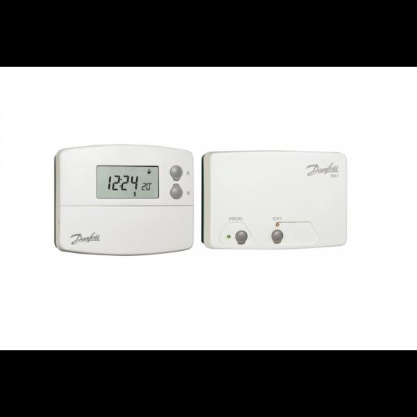 DANFOSS TP5001-RF+RX1 vezeték nélküli programozható termosztát