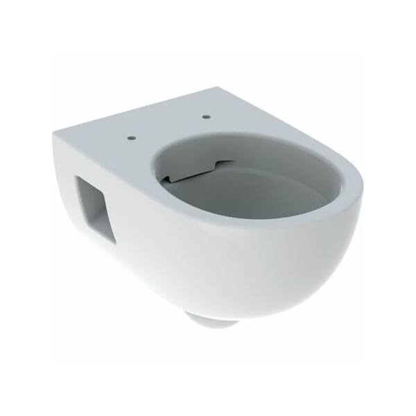Geberit Selnova fali WC, mélyöblítésű, részben zárt forma, Rimfree
