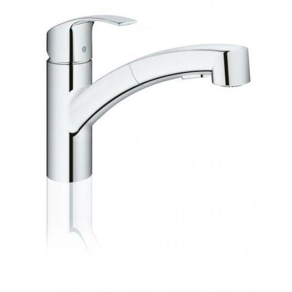 Grohe Eurosmart kihúzható zuhanyfejes mosogató csaptelep 30305000
