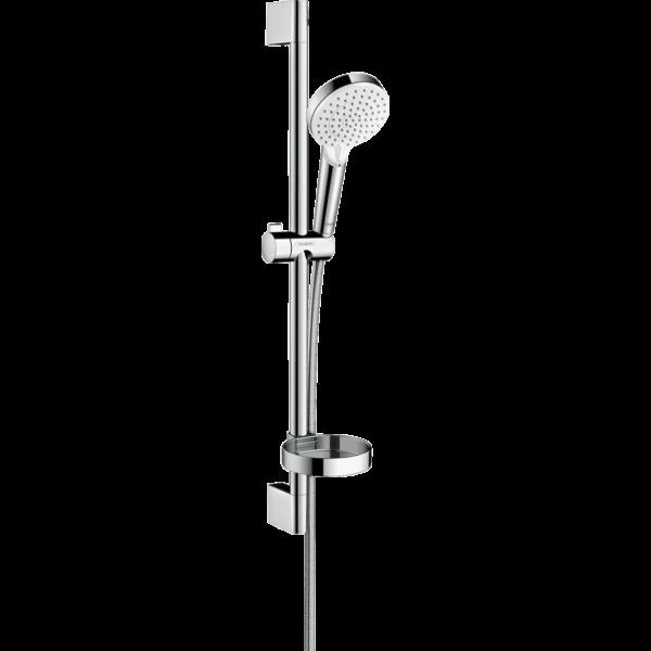 hansgrohe. Crometta Zuhanyszett Vario 65 cm-es zuhanyrúddal és szappantartóval