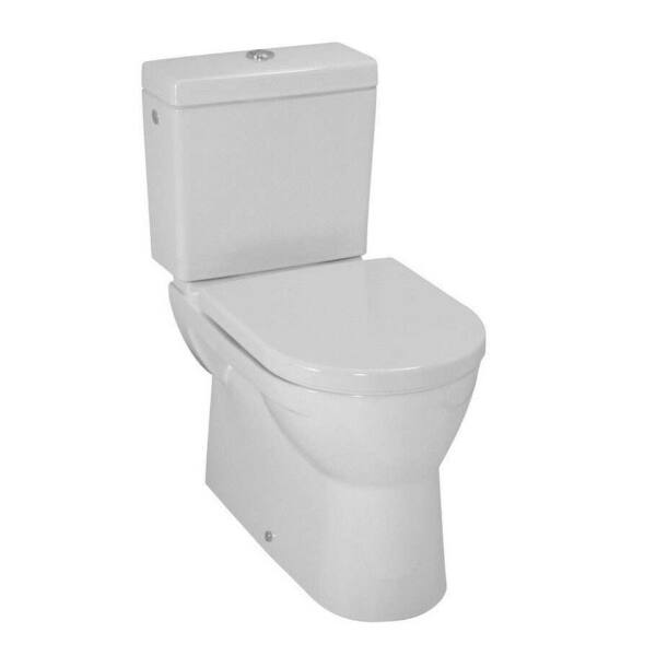 LAUFEN PRO Álló kombi-WC, síköblítésű, Vario lefolyó 824959