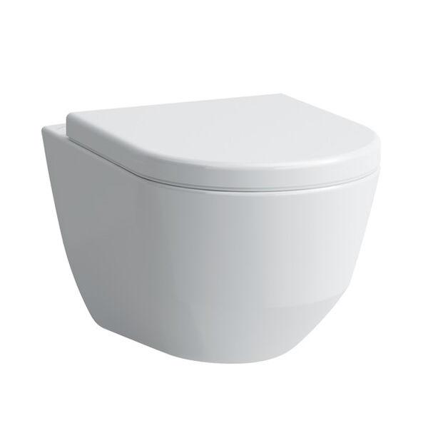 LAUFEN PRO  Fali WC, perem nélküli, mély öblítésű H8209660000001