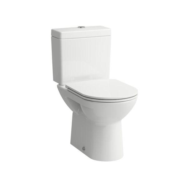 LAUFEN PRO Álló kombi-WC, mélyöblítésű, függőleges lefolyó 824957