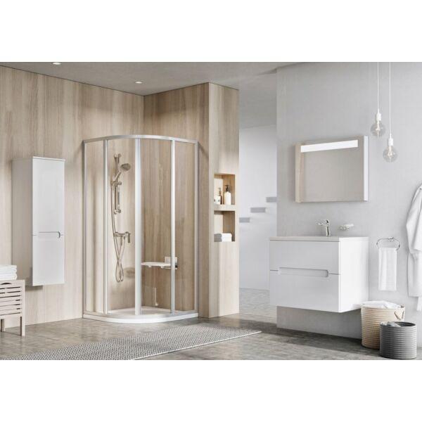 RAVAK SUPERNOVA SKCP4-90 négyelemes, negyedköríves zuhanykabin (pearl)