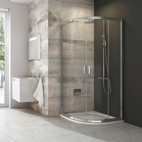 RAVAK BLIX BLCP4-90 íves zuhanykabin (átlátszó)