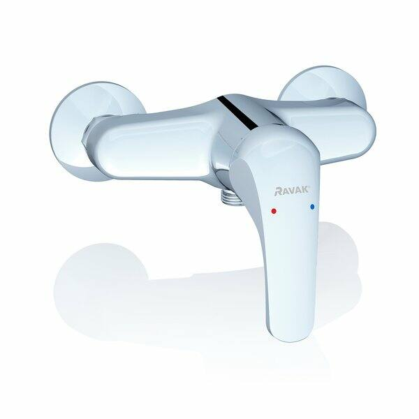RAVAK ROSA RS 032.00/150 fali zuhanycsaptelep szett nélkül 150 mm