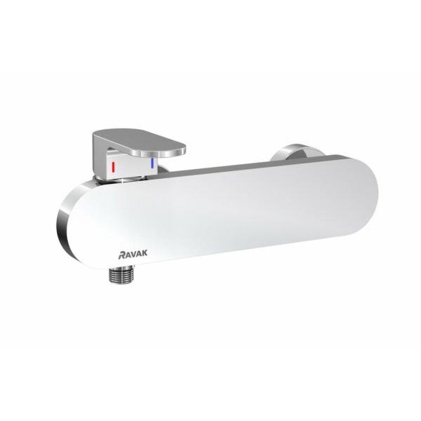 RAVAK Chrome fali zuhanycsaptelep szett nélkül, 150 mm X070043