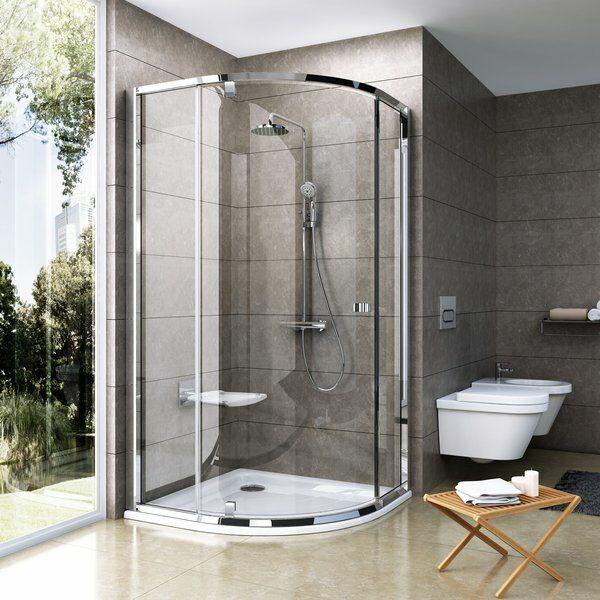 RAVAK Pivot PSKK3 háromrészes negyedköríves kifelé nyíló zuhanysarok 37677100Z1