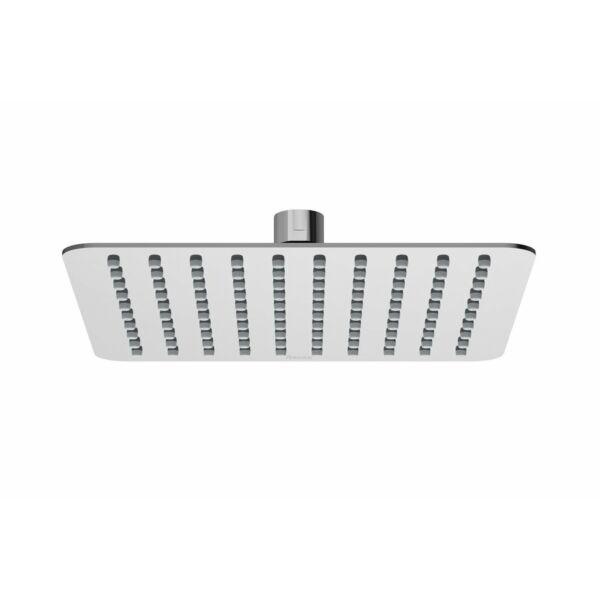 RAVAK Chrome esőztető zuhanyfej - Slim, négyzetalapú, 200 mm