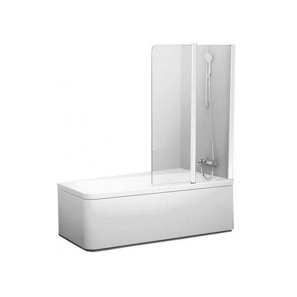Ravak 10CVS2-100 jobbos Fehér + Transparent kádparaván