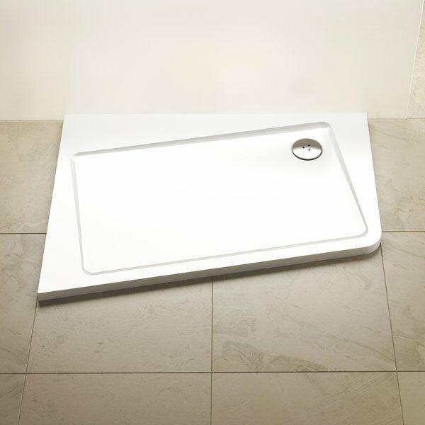 RAVAK Asymetric Pro 10° zuhanytálca Jobbos XA25G70101P