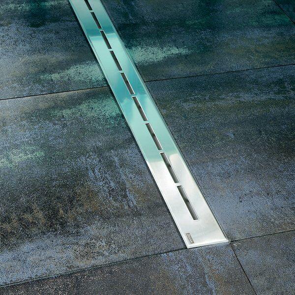 RAVAK OZ RAVAK Runway 750 zuhanyfolyóka (rozsdamentes acél)